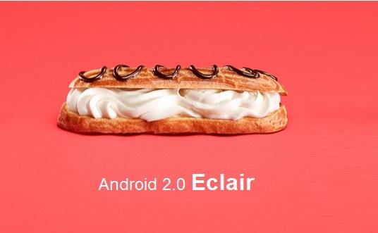 Android Eclair 2.0 - Jawalmax