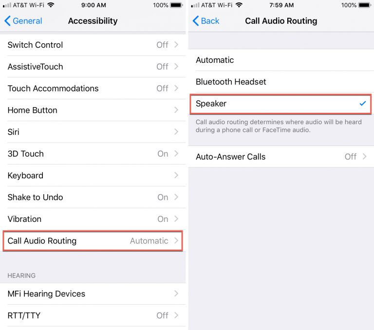 Answer Calls Automatic on iPhone - JawalMax
