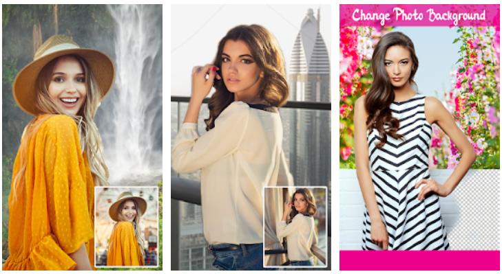 Change photo background - JawalMax