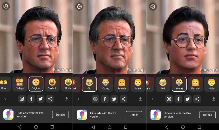 FaceApp Android & iOS - Jawalmax