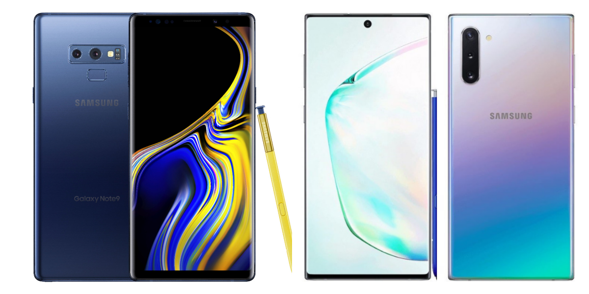 Samsung Note 9 Vs Samsung Note 10