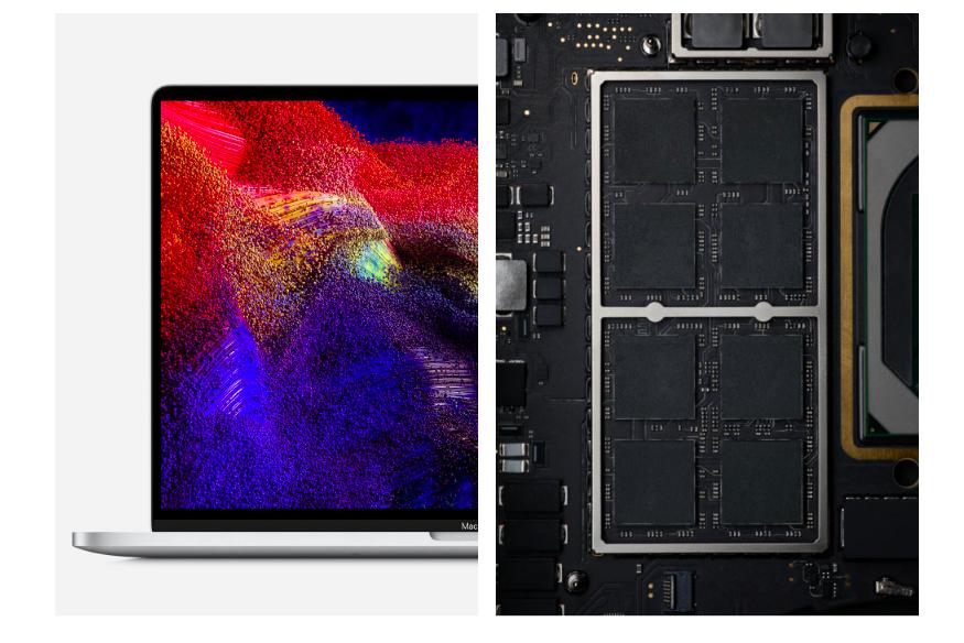 أداء جهاز MacBook Pro