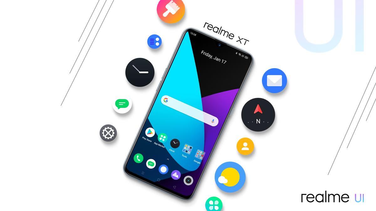 Realme 3 Pro - UI