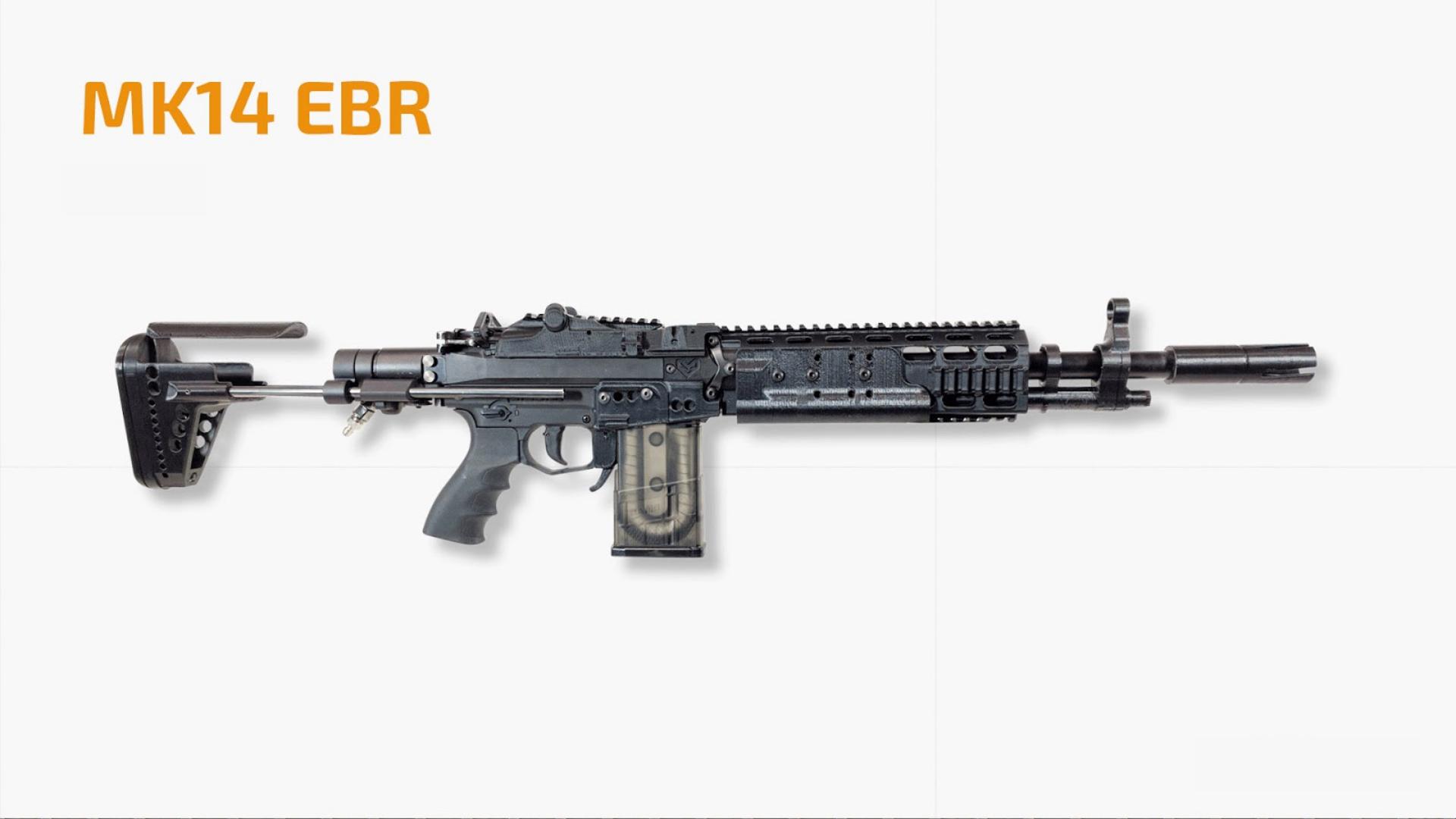 سلاح mk14 في ببجي موبايل