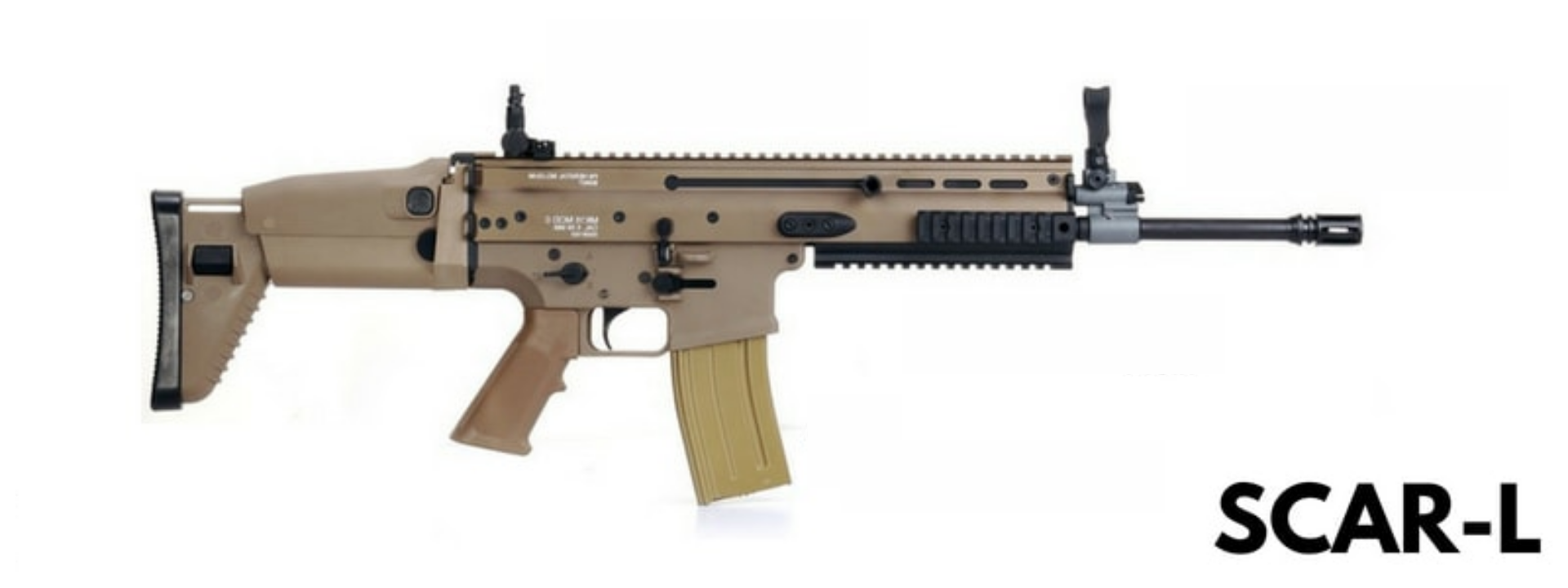 سلاح Scar-l في ببجي موبايل