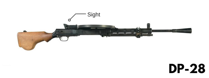 سلاح DP-28 في ببجي موبايل