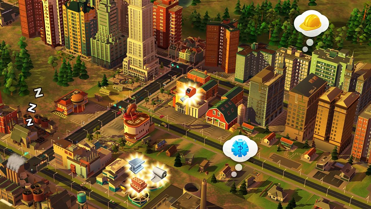 مميزات لعبة Simcity Build it