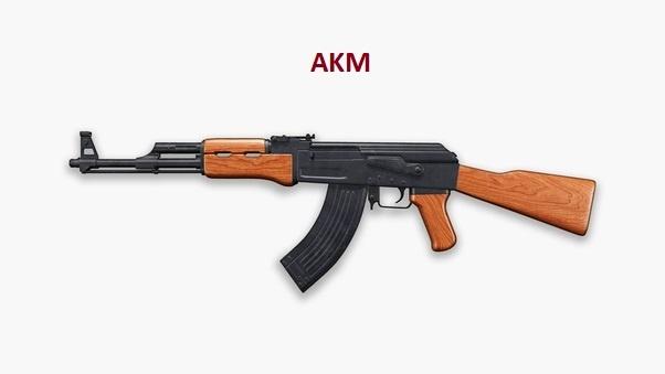 سلاح AKM في ببجي موبايب