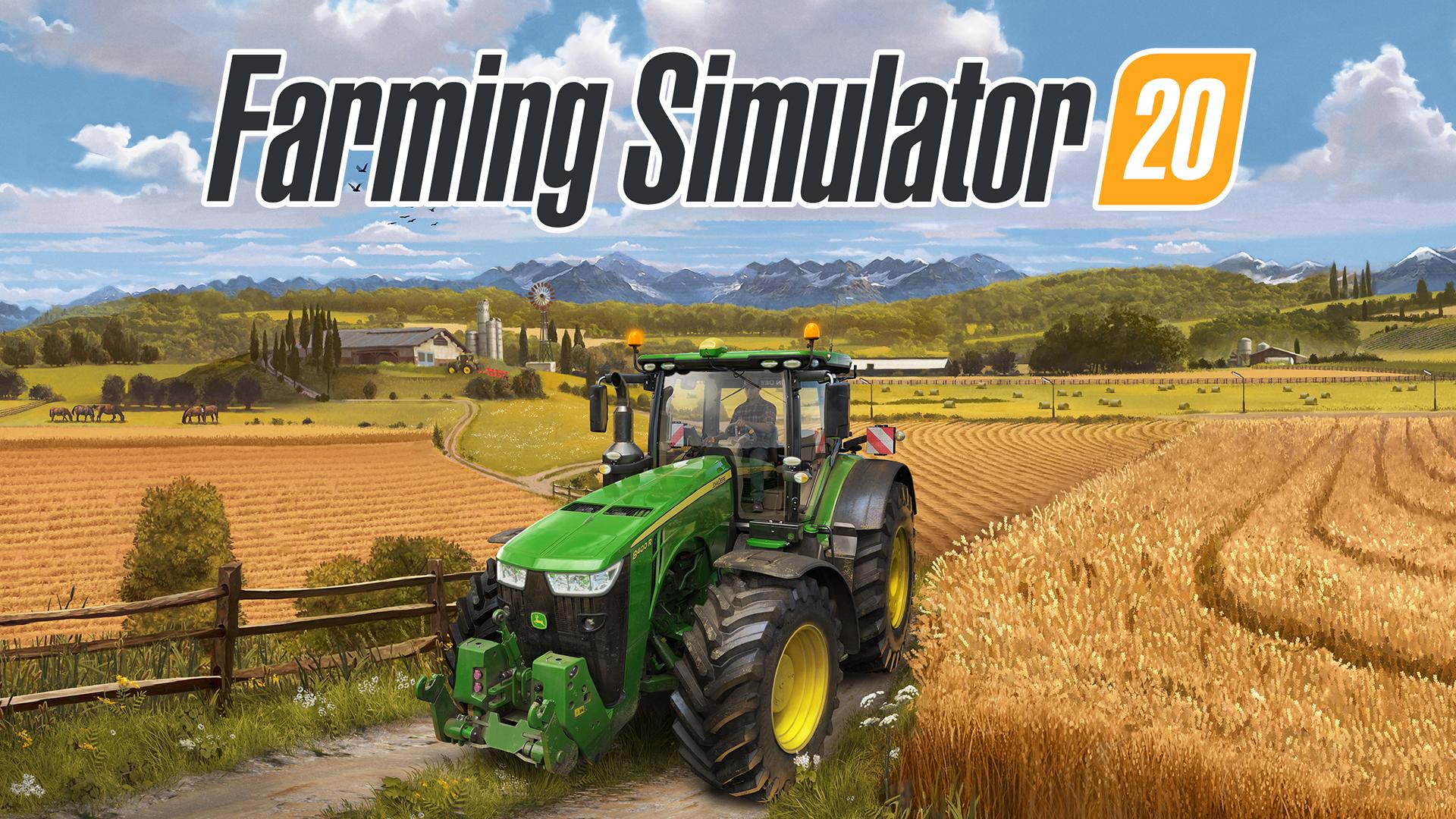 لعبة Farmer Simulator