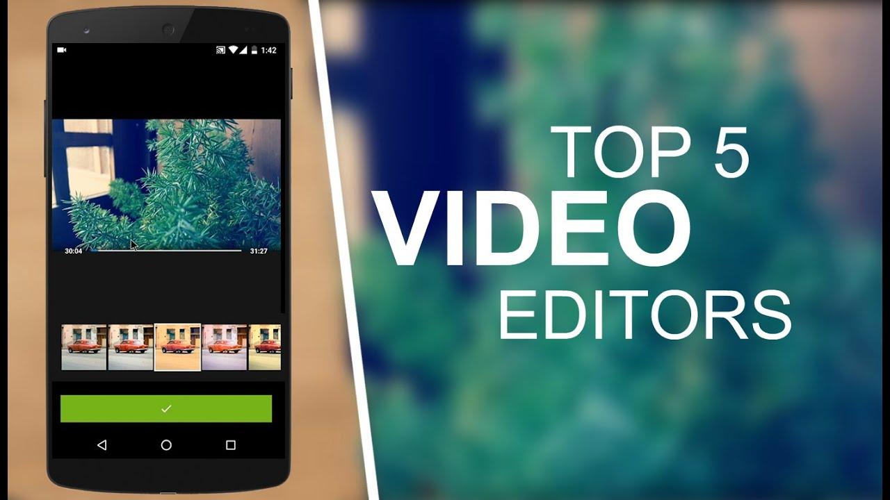 أفضل 5 تطبيقات للتعديل على الفيديو للأندرويد