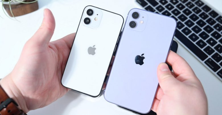 شاهد التعامل مع Apple iPhone 12 mini في الفيديو