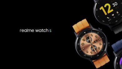 تم الكشف عن سعر ومواصفات Realme Watch S مع شاشة SpO2