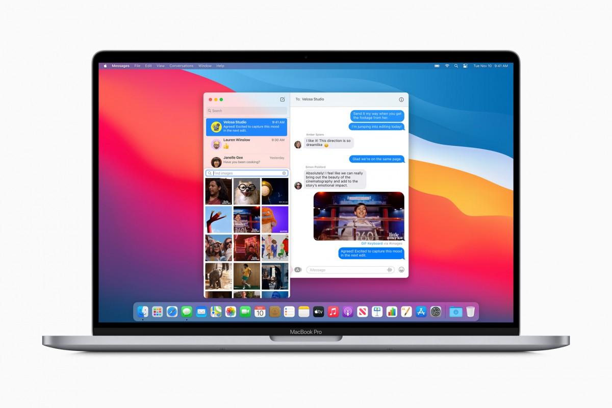مواصفات macOS Big Sur