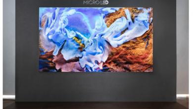 تعرف علي شاشة MicroLED من سامسونج مقاس 110 بوصات