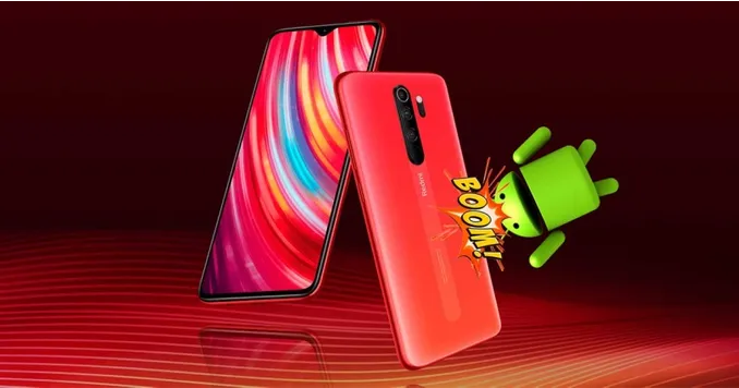 هاتف Redmi Note 8 Pro يحصل علي أحدث تحديث لـ MIUI 12