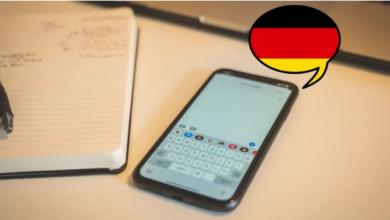 افضل تطبيقات لتعلم اللغة الألمانية من iPhone