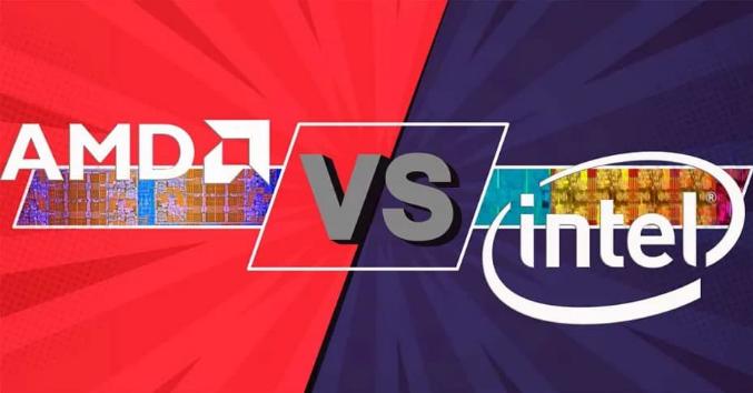 مقارنة AMD Ryzen 3 3100 مقابل Intel Core i3-9100F في الألعاب