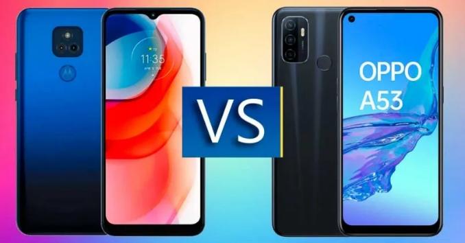 مقارنة بين Moto G Play 2021 و OPPO A53