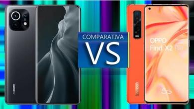 مقارنة بين Xiaomi Mi 11 و OPPO Find X2 Pro