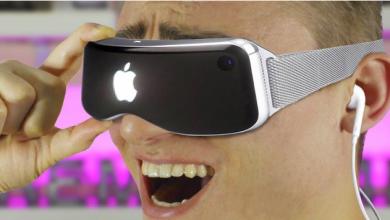 نظارات الواقع الافتراضي من Apple