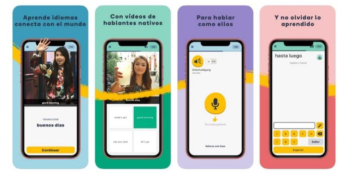 تطبيق Memrise: من افضل تطبيقات لتعلم اللغة