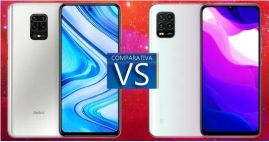 مقارنة Redmi Note 9 Pro و Xiaomi Mi 10 Lite: الاختلافات وأيها أفضل