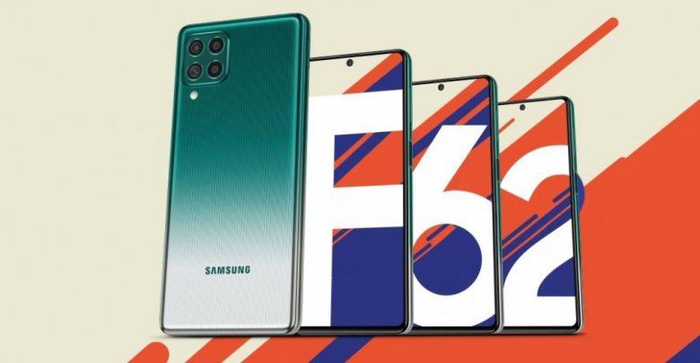 تعرف علي سعر و مواصفات هاتف Samsung Galaxy F62