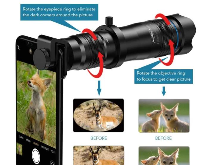Apexel HD Cell Phone Lens-28x